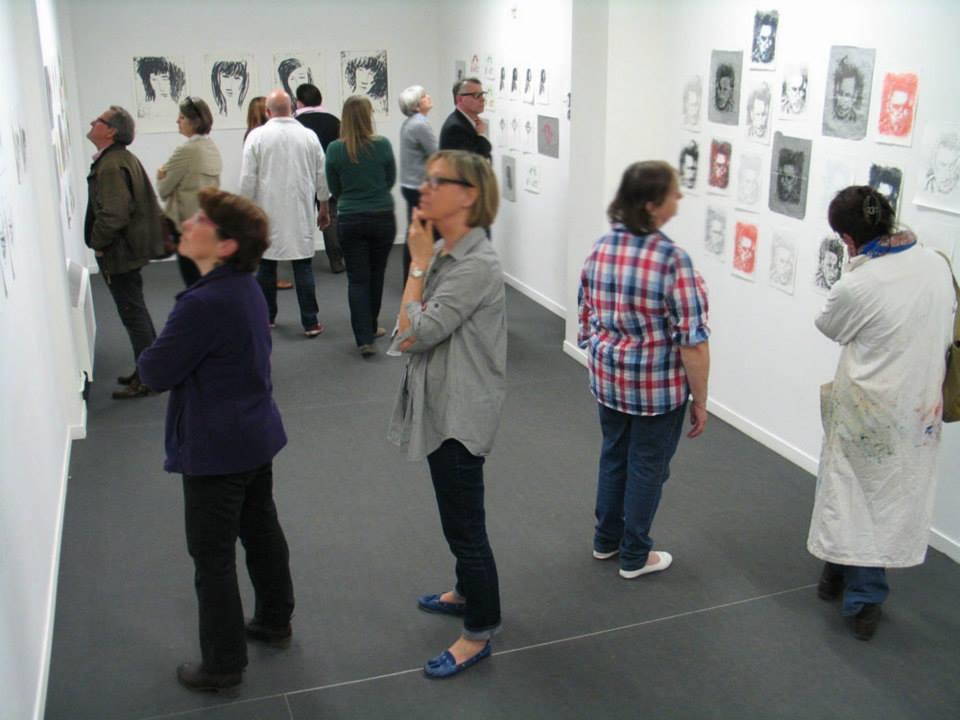 Exposition à la petite galerie de l'école d'Arts-plastiques, Beaux-arts de la Ville de Poitiers.