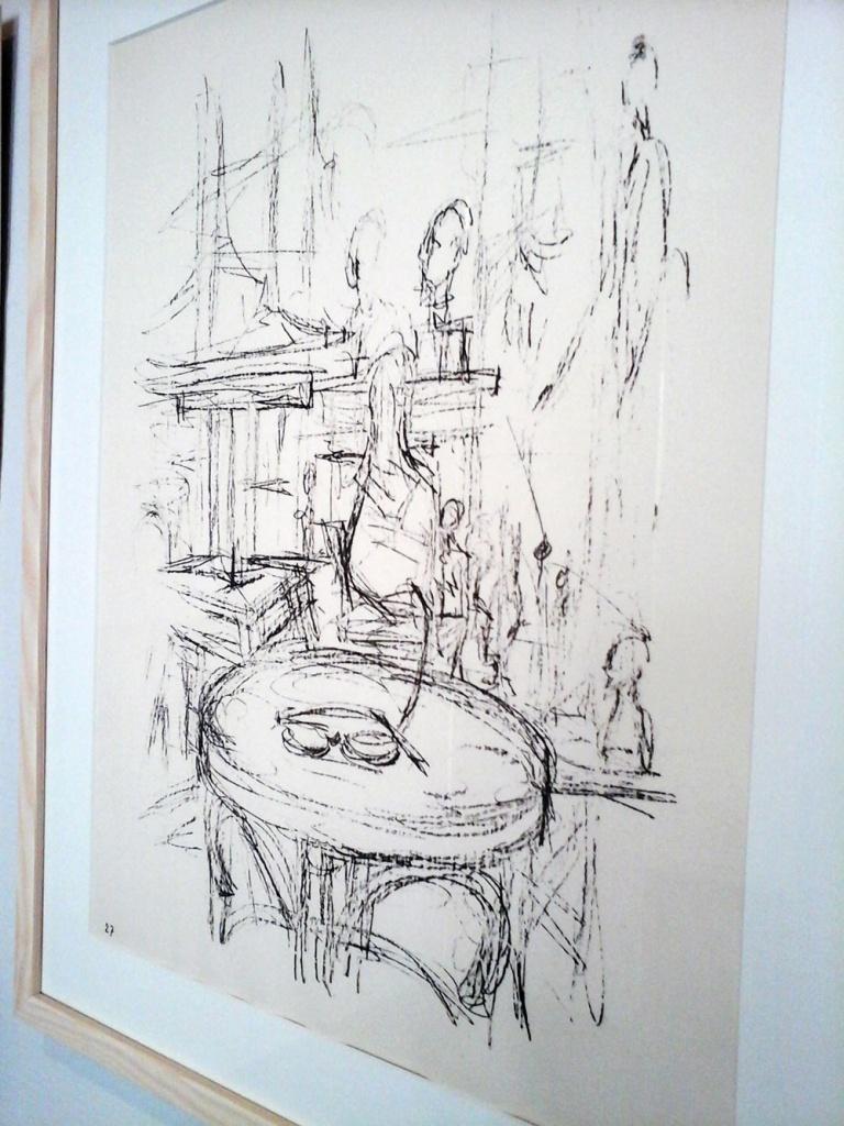 giacometti-lithographie