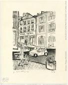 Estampe, Philippe Brouard
