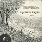 🇫🇷  La gravure simple – Version papier en couleurs
