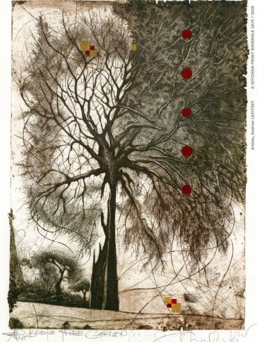 Andrew Levitsky – 🏆 Second prize of the jury category Printmaking – Mention Contemplation