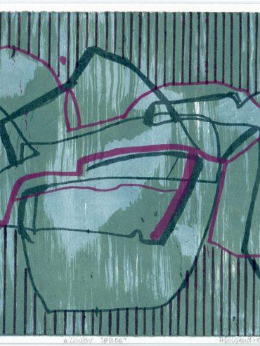 Aleksandra Jakubczak – 🏆 Second prize of the jury category 'Kitchen Lithography' – Mention Abstraction