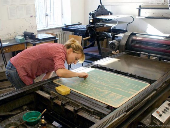 2nd prix Kitchen Lithographie, Aleksandra Jakubczak, KiTCHEN PRINT BIENNALE 2020, France.