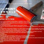 Des affiches pour la Kitchen PRiNT BIENNALE 2019-2020, liste des 87 artistes !