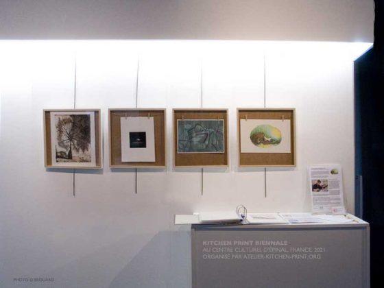 Retour sur l'exposition «Kitchen Print Biennale» au Centre culturel d'Épinal du 23 août au 04 septembre 2021, France.